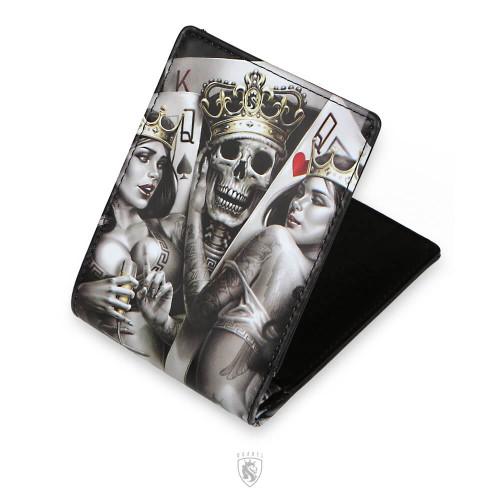 2 Of A Kind Thin Bi Fold Wallet