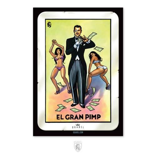 Grand Pimp Sticker