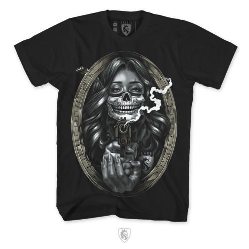 Bandit Girl Mens Tee In Black