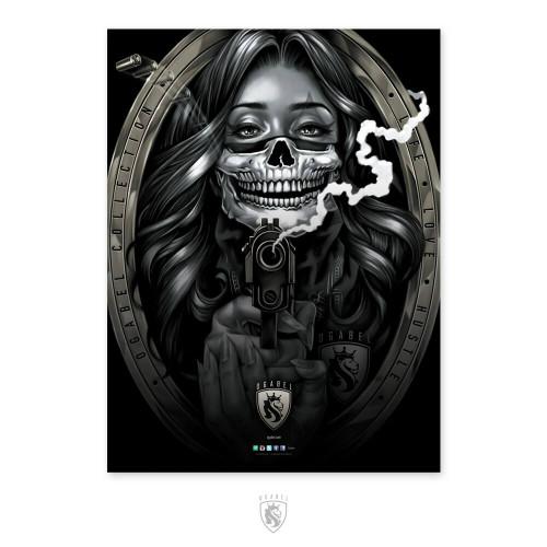 Bandit Girl 18X24 Poster