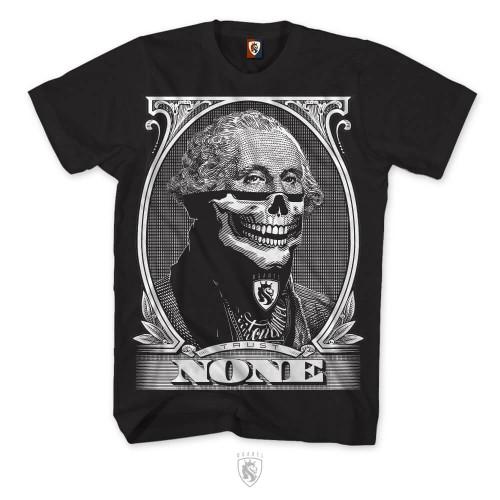 Trust None featuring George Washington wearing a Bandit Bandana