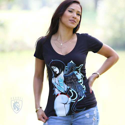 Dark Angel 016 V-Neck