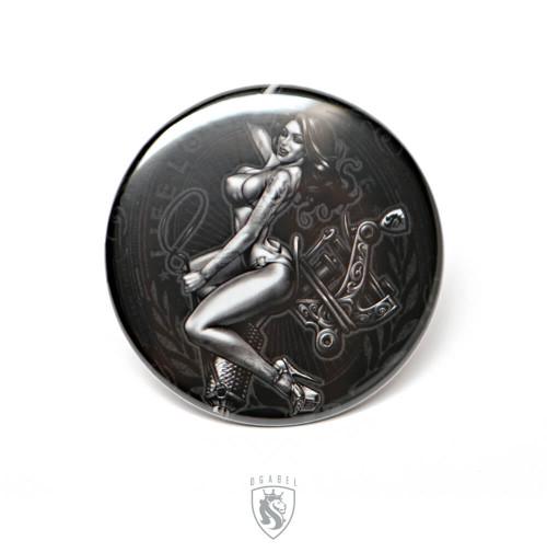 OG Button - Tattoo Rider