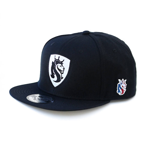 Lion Shield BLACK Snapback