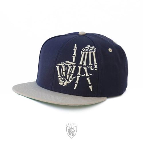 LA Bones SNAP Hat (Rams)