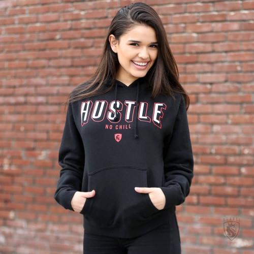Hustle No Chill Pullover Hoodie