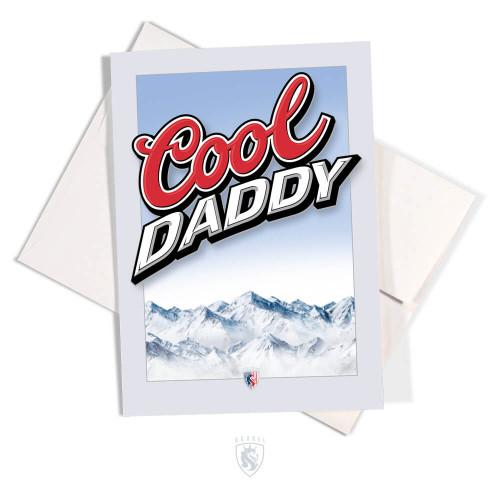 Cool Daddy Greeting Card
