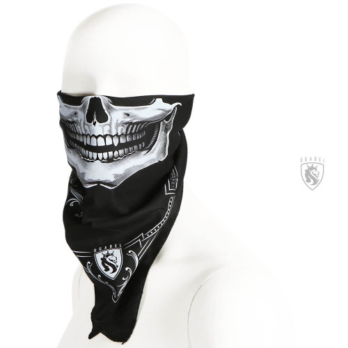 OG Skull Bandit Bandana Black