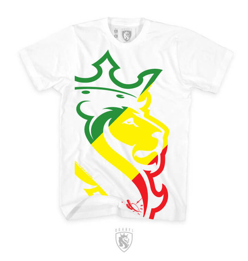 Big Lion Rasta (White)
