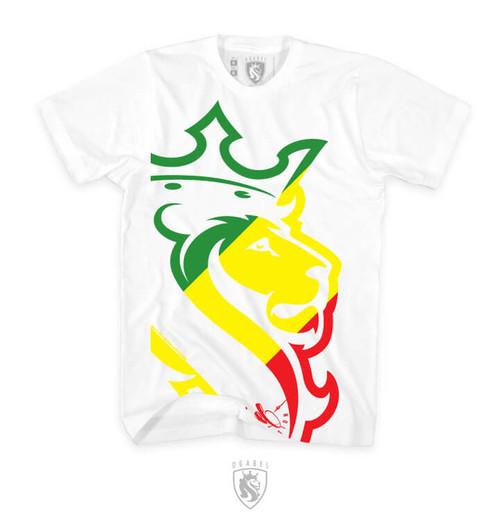 Big Lion Rasta (White)