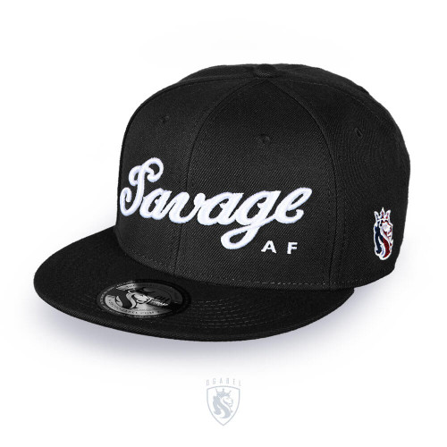 Savage Snapback (Black)