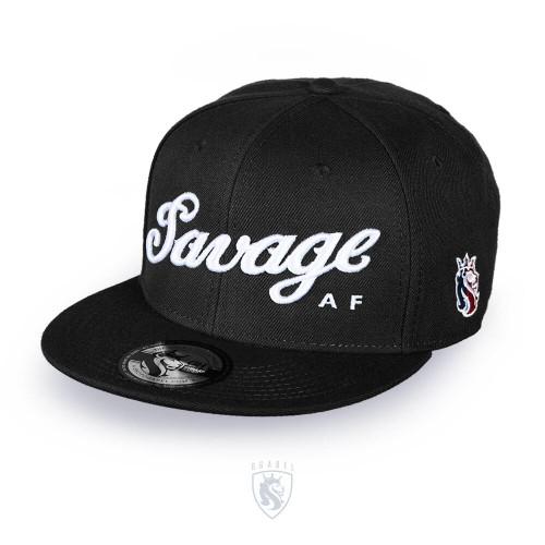 Savage Snapback (Black)