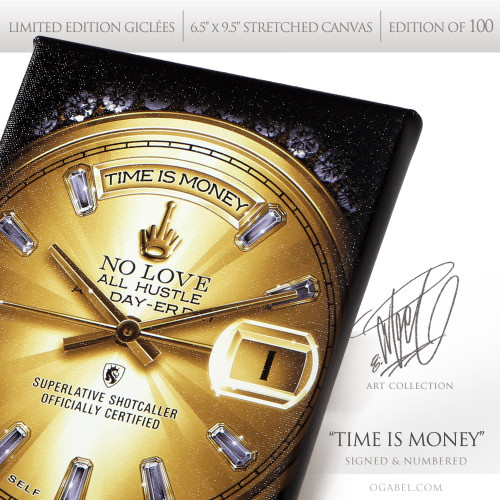 Time is Money - Limited Edition print by OGABEL
