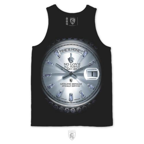 Time is Money Platinum Tank
