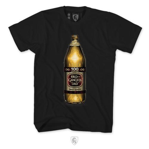 OG Dad 40oz beer bottle