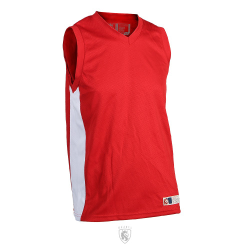 Sports Tank B-Ball Jersey (RED)