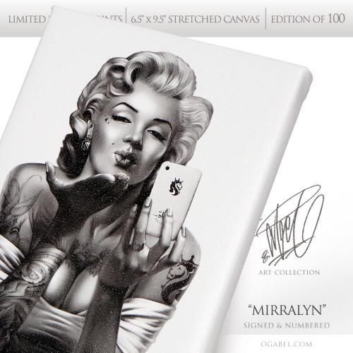 """Mirralyn 6.5""""x 9.5"""" Limited Edition Canvas"""