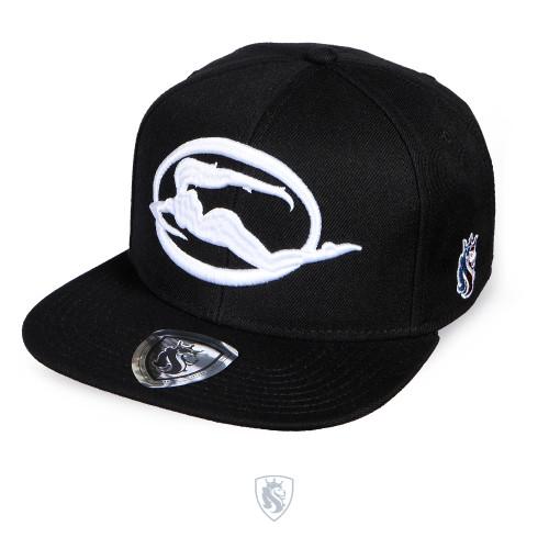 Emblem Snapback Hat