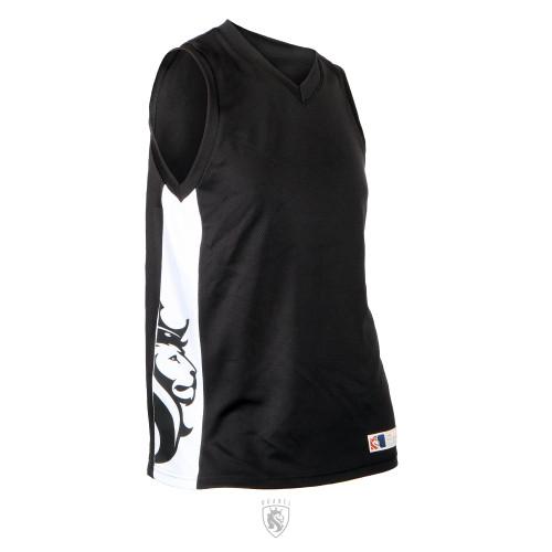 Lion Sports Tank B-Ball Jersey (BLACK)