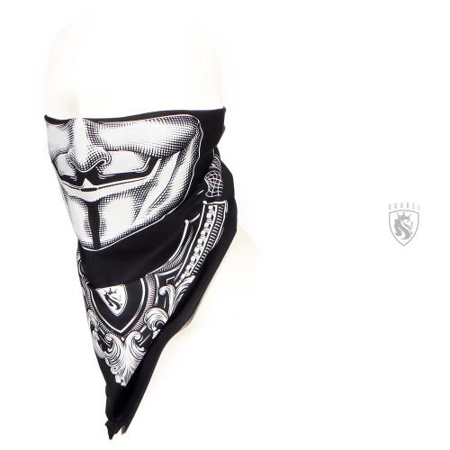 Vendetta bandana in black