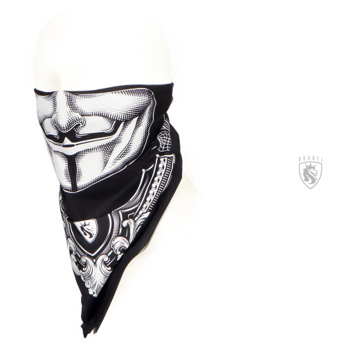 Vendetta bandana in black