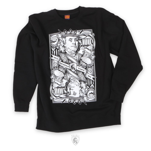 Cash Is King CrewNeck Sweater