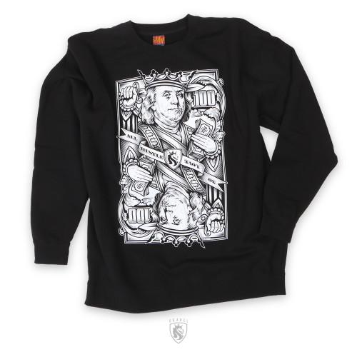 Cash Is King CrewNeck Sweater