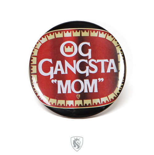 OG MOM Pin-back Button