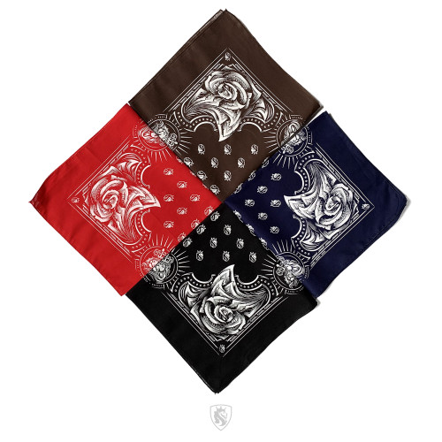 Money Rose Bandana 019