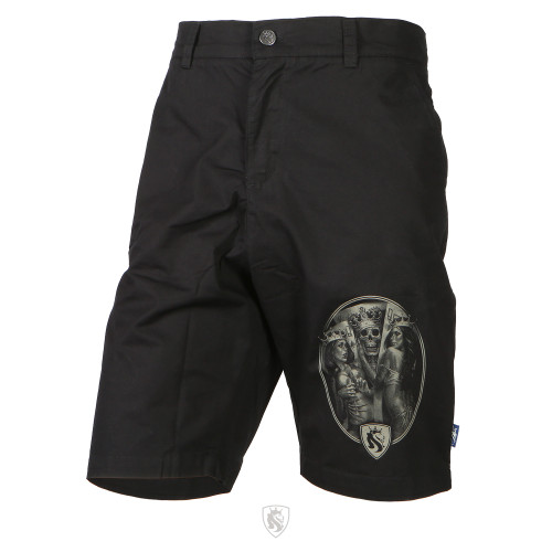 2 Of A Kind Chino Shorts (Black)