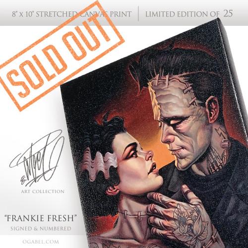 """Frankie Fresh 8""""x 10"""" Limited Edition (25)"""