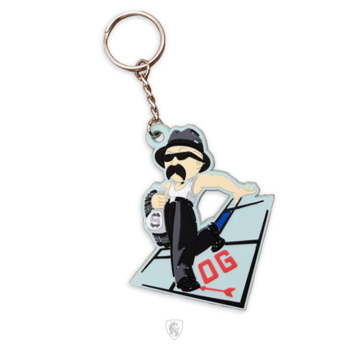 Silicone Rubber Keychain of Vato Loco