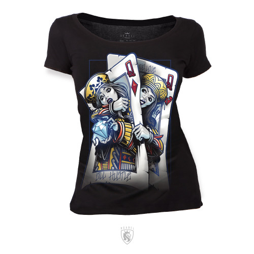 Fighting Queens (Scoop, V-Neck or Tee)