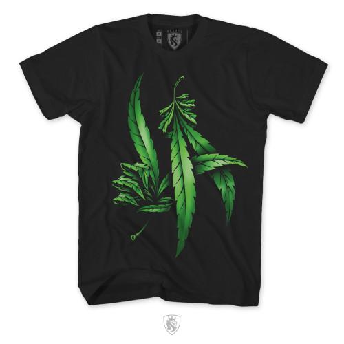 LA Weed Hands Mens Tee