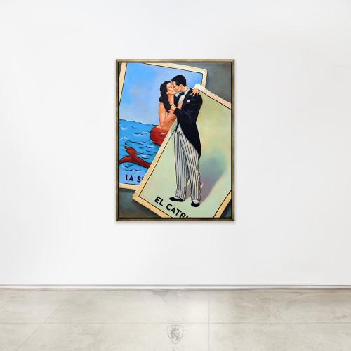 Catrin Y Sirena Original Painting