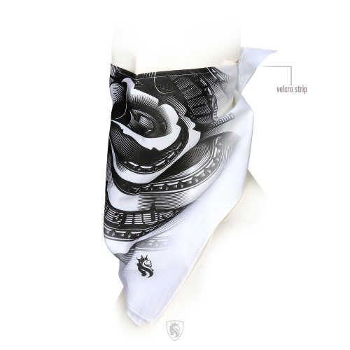 Our Famous Money Rose Design on a bandana by OGABEL