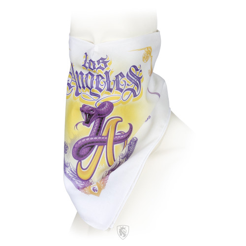 LA Mamba Lakers Bandana Mask