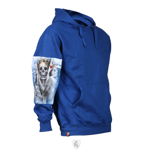 2 Of A Kind Unisex Pullover Hoodie Royal
