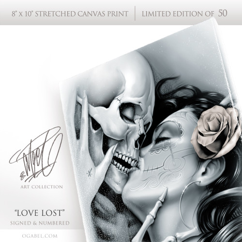 Love Lost Limited Edition Canvas