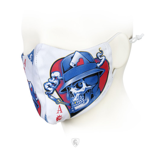 Ace Of Hearts Facemask