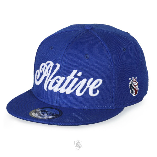 Native Script Hat Royal