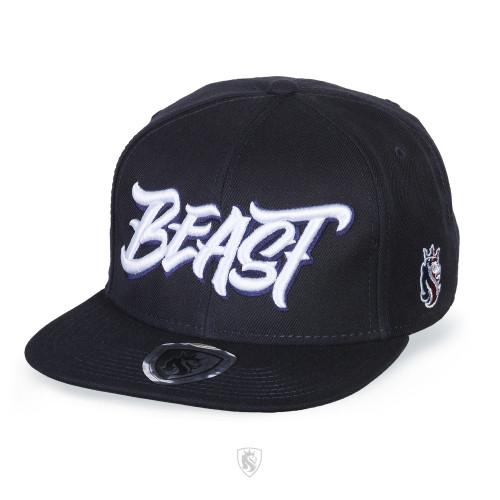 Beast Snapback Hat Navy