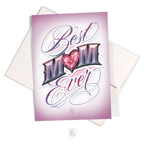Best Mom Greeting Card