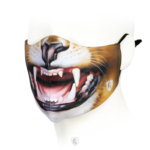 Lion Growl Facemask
