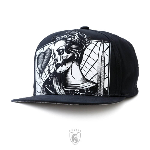 Awesome Queen Skull design on a hat