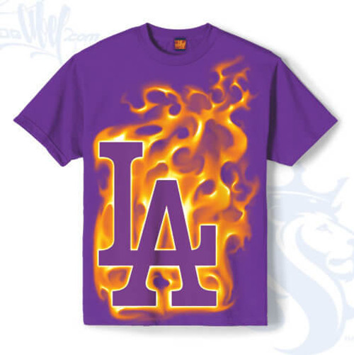 LA design up in flames. We'll burn this shit up get us pissed