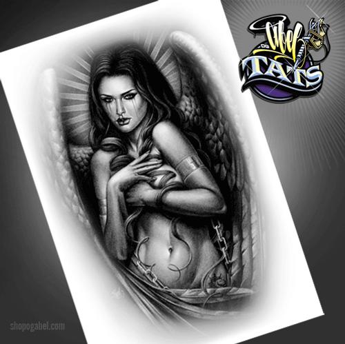 Angelica Temporary Tattoo