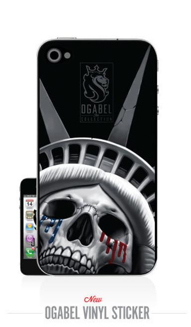 LiberTear iPhone4 Sticker