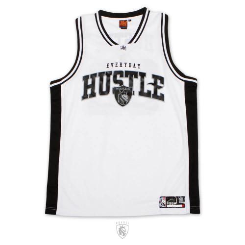 EverHustle B-Ball Jersey (White)
