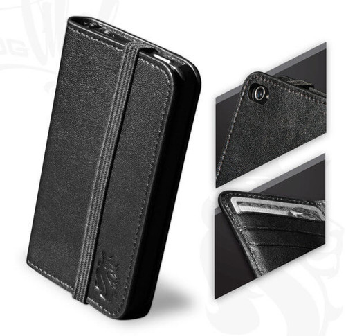 iPhone4 Leather Wallet
